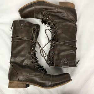Olsenboye | Obaily Lace Up Boots
